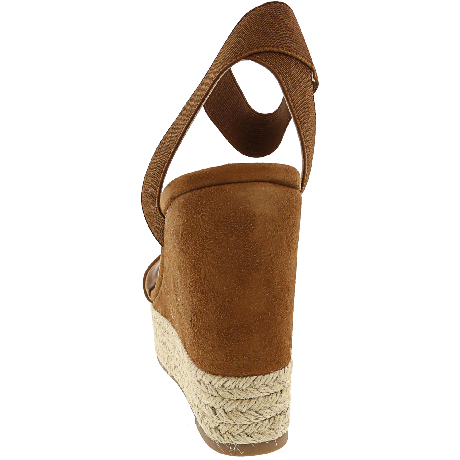 Steve-Madden-Women-039-s-Certified-Suede-Ankle-High-Wedged-Sandal thumbnail 9