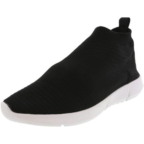 Steve Madden Women's Fabs Mid-Top Fabric Sneaker