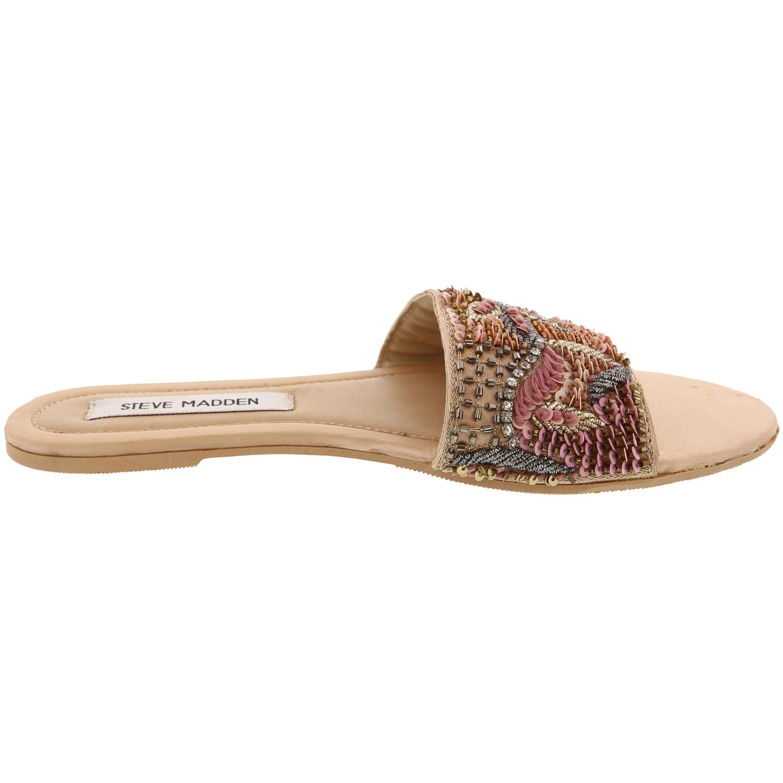 Steve-Madden-Women-039-s-Noble-Fabric-Slip-On-Shoes thumbnail 8