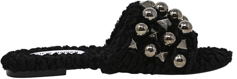 Steve-Madden-Women-039-s-Nauder-Fabric-Sandal thumbnail 7