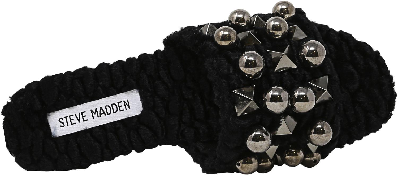 Steve-Madden-Women-039-s-Nauder-Fabric-Sandal thumbnail 8