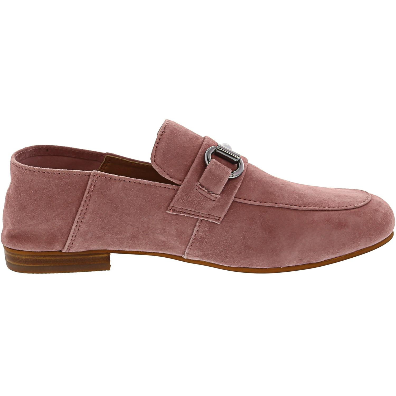 Steve-Madden-Women-039-s-Kerin-Suede-Ankle-High-Loafer thumbnail 11