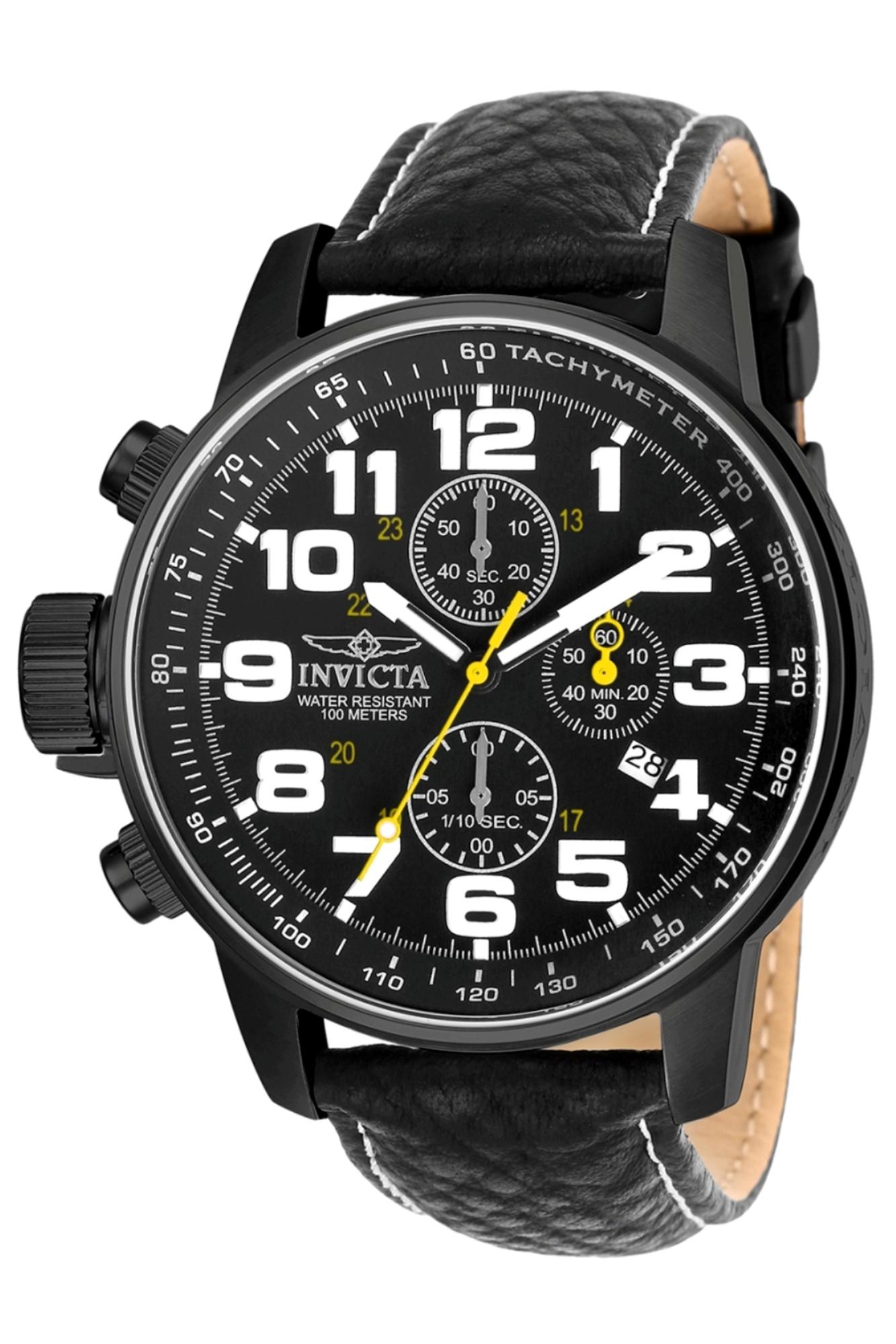 Invicta_Mens_3332_Black_Leather_Japanese_Chronograph_Sport_Watch