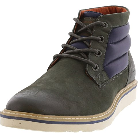 Hawke And Co Men's Hunter Mid High-Top Leather Boot