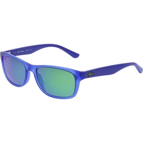 Lacoste Boy's L3601S-414-50 Blue Rectangle Sunglasses