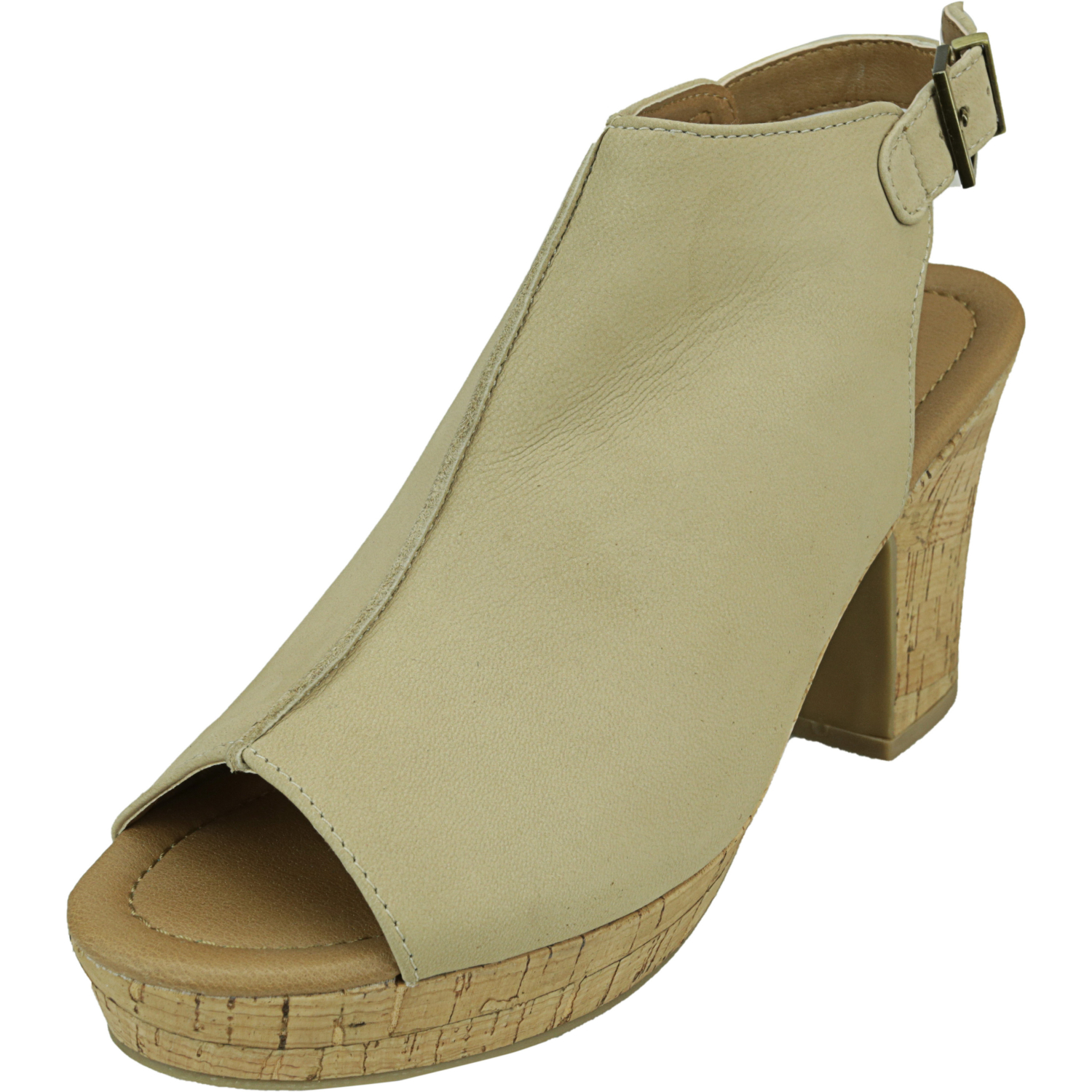 Kenneth Cole Women's Tole-Tally Stone Ankle-High Leather Sandal - 9.5M