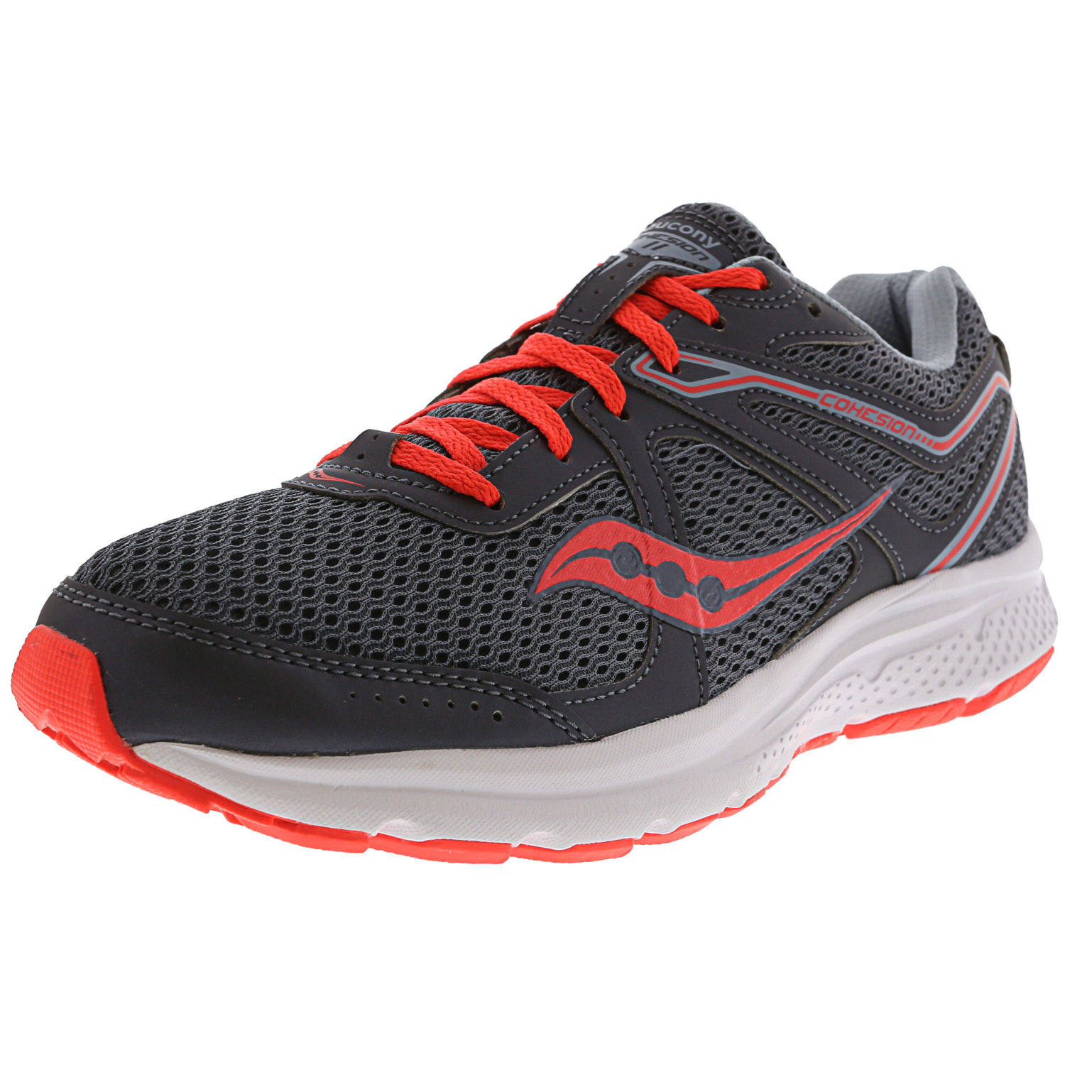 d2b50120 Details about Saucony Women's Grid Cohesion 11 Ankle-High Mesh Running Shoe