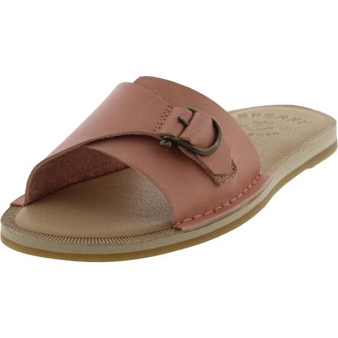 Sperry Women's Seaport Leather Slide Sandal