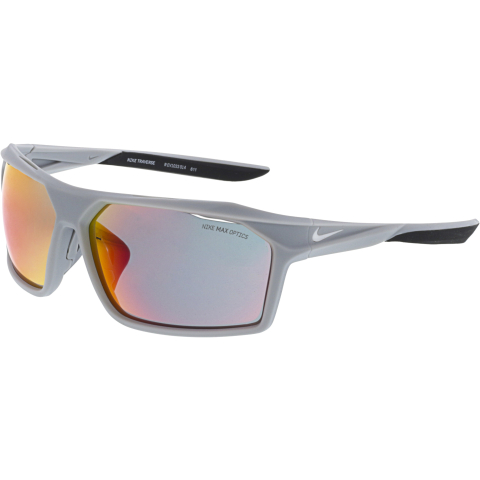 Nike Men's Transverse EV1033-014 Grey Rectangle Sunglasses