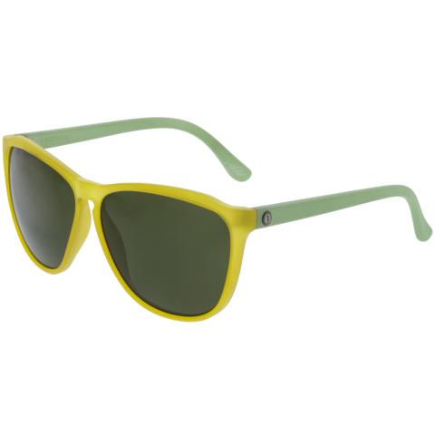 Electric Encelia EE12050720 Matte Yellow Square Sunglasses