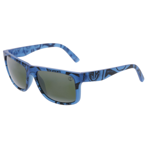 Electric Men's Gradient Swingarm EE12952441 Blue Rectangle Sunglasses