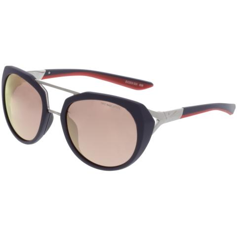 Nike Mirrored Flex Motion R EV1015-515 Black Square Sunglasses