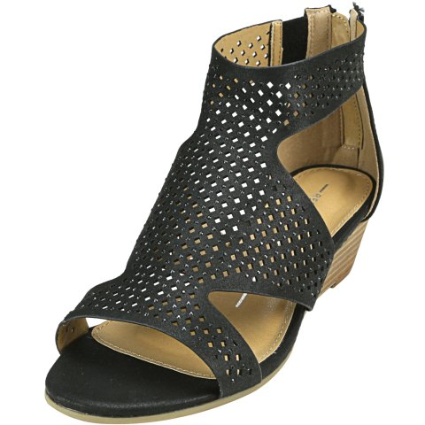 Report Women's Mackie Ankle-High Wedged Sandal