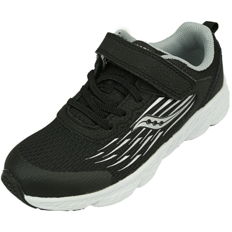 Saucony Boy's Wind A/C Ankle-High Mesh Running