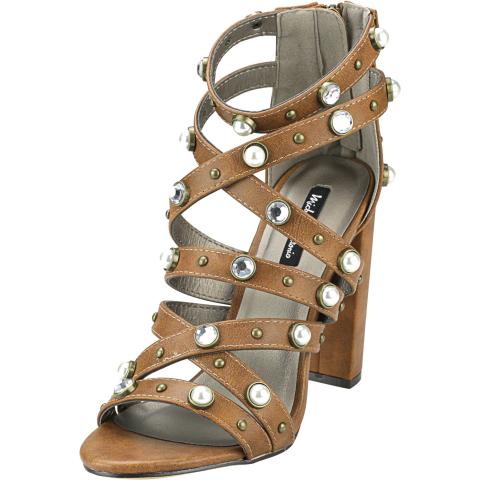 Michael Antonio Women's Renata Ankle-High Heel