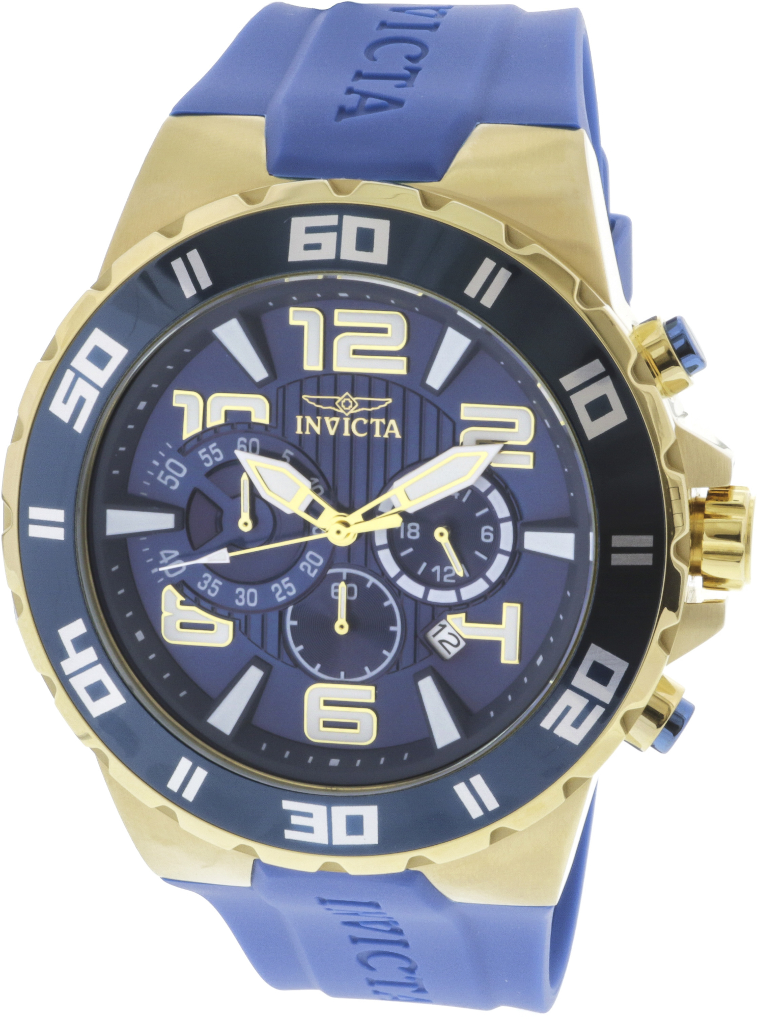 Invicta_Mens_24670_Gold_Silicone_Japanese_Chronograph_Diving_Watch