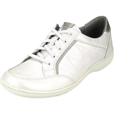 Aravon Women's Bromly Ghillie Ankle-High Leather Sandal