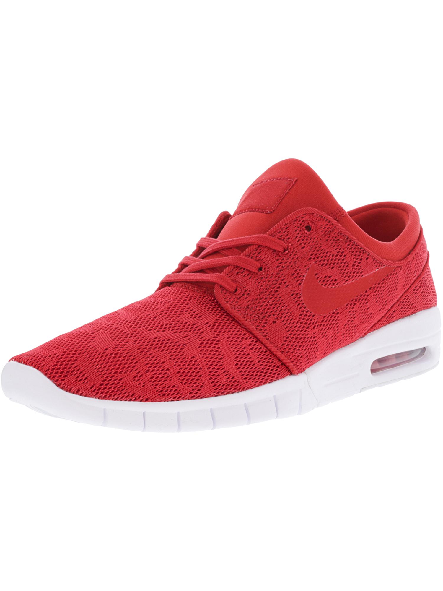 228df90701 ... spain mens nike sb stefan janoski max size 10 university red white  skate shoes 8c7c3 1698e