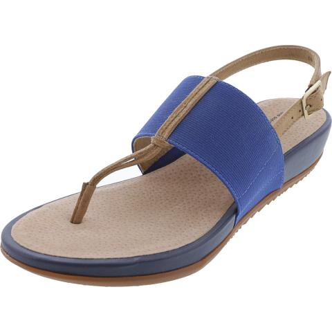 Soft Walk Women's Daytona Ankle-High Leather Wedged Sandal