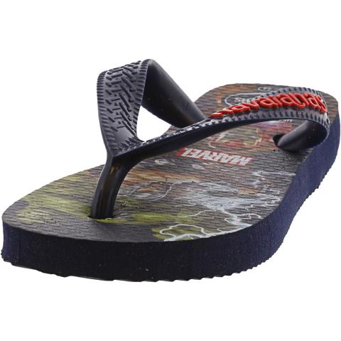Havaianas Boy's Marvel Flip Flop Sandal