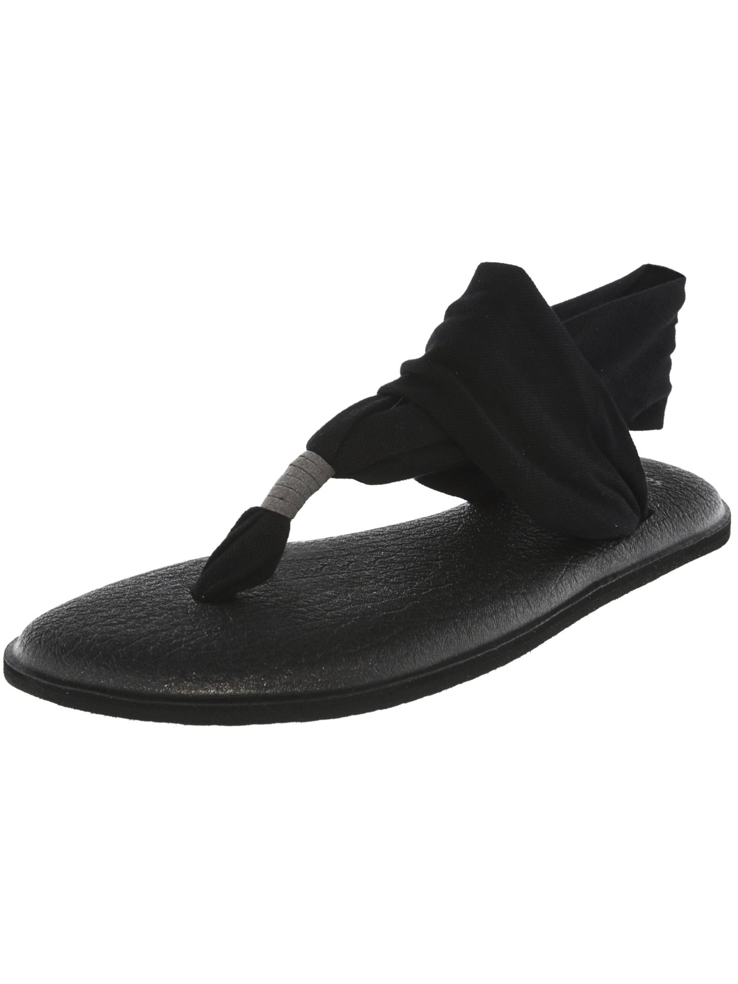 Sanuk Women's Yoga Sling Slingback Sandal,Grey,8 M US
