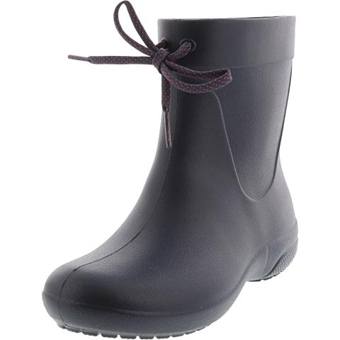 Crocs Women's Freesail Shorty High-Top Rain Boot