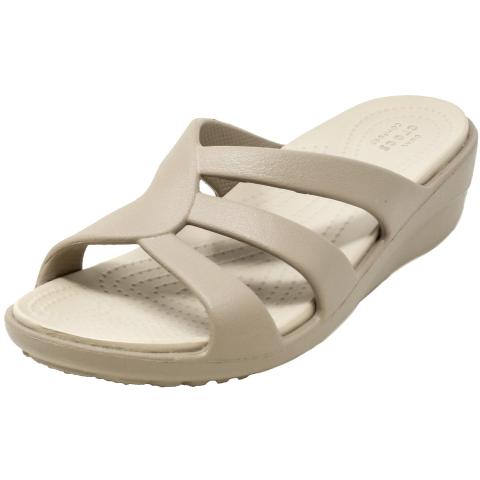 Crocs Women's Sanrah Strappy Wedge Sandal