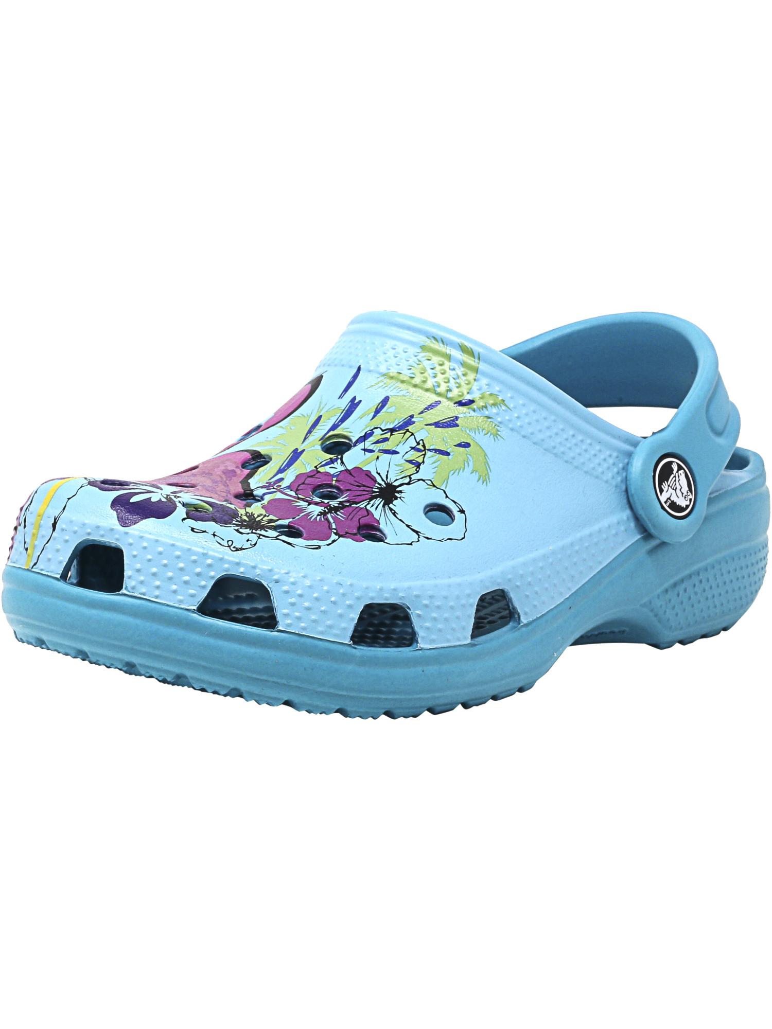394d2b0a8687d Crocs Classic Graphic Clog K Turquoise Unisex Infant Slingback Size ...
