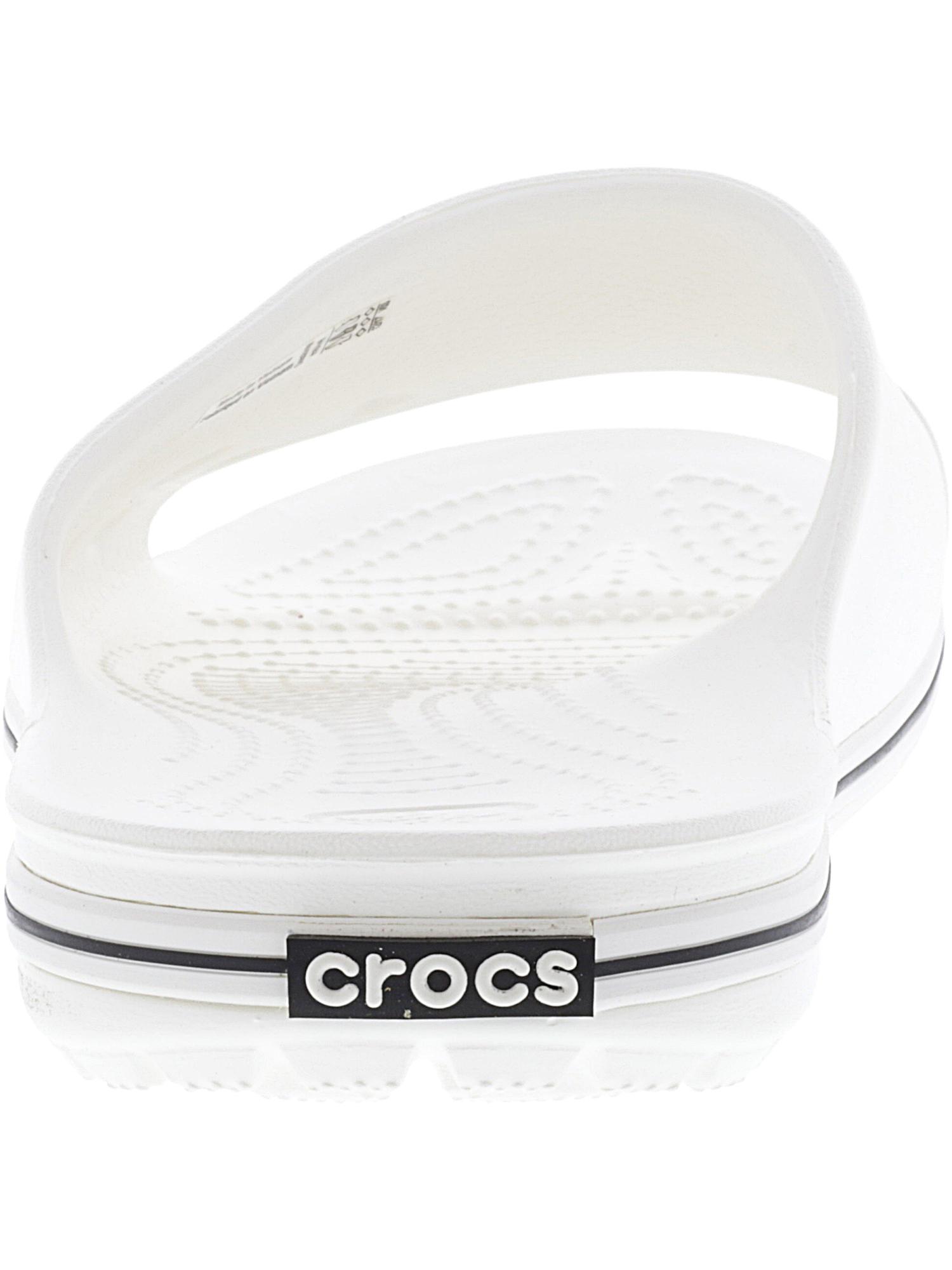 2a90867a26e3 Crocs Crocband II Slide White   Black Sandal - 6m 4m for sale online ...