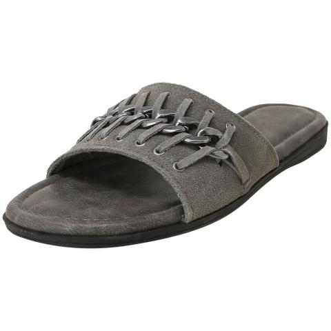 Minnetonka Women's Paris Leather Slip-On Shoes