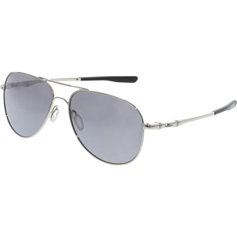 Oakley Men's Elmont OO4119-08 Silver Aviator Sunglasses