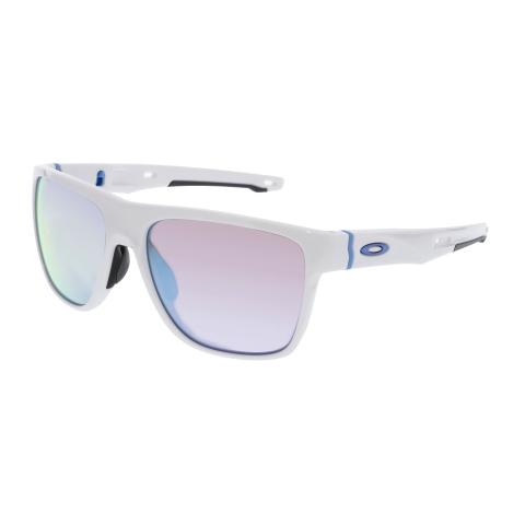 Oakley Men's Crossrange OO9360-08 White Square Sunglasses