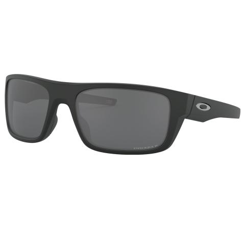 Oakley Men's Polarized Drop Point OO9367-936708-60 Black Rectangle Sunglasses