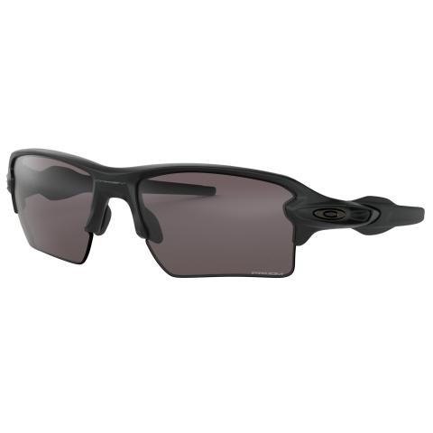 Oakley Men's Polarized Flak 2.0 Xl 0OO9188-91887359 Black Rectangle Sunglasses