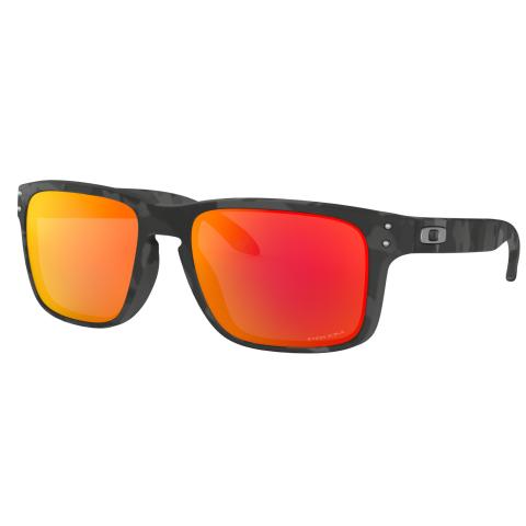 Oakley Polarized Holbrook 0OO9102-9102E955 Black Rectangle Sunglasses