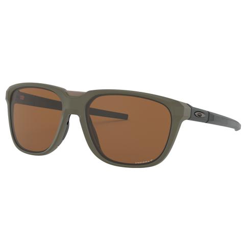 Oakley Men's Polarized Anorak 0OO9420-94200759 Green Rectangle Sunglasses
