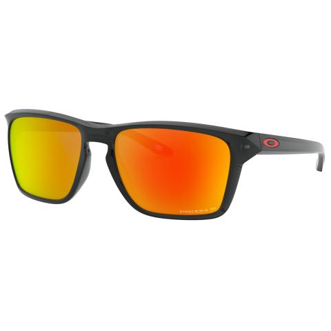 Oakley Men's Polarized Sylas 0OO9448-94480557 Black Square Sunglasses