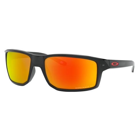 Oakley Men's Polarized Gibston 0OO9449-94490560 Black Square Sunglasses