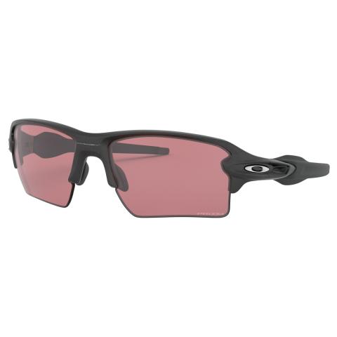 Oakley Men's Polarized Flak 2.0 Xl 0OO9188-9188B259 Silver Rectangle Sunglasses