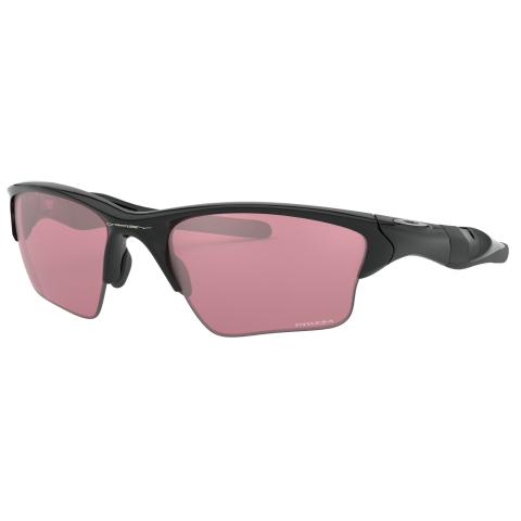 Oakley Men's Polarized Half Jacket 2.0 0OO9154-91546462 Black Wrap Sunglasses