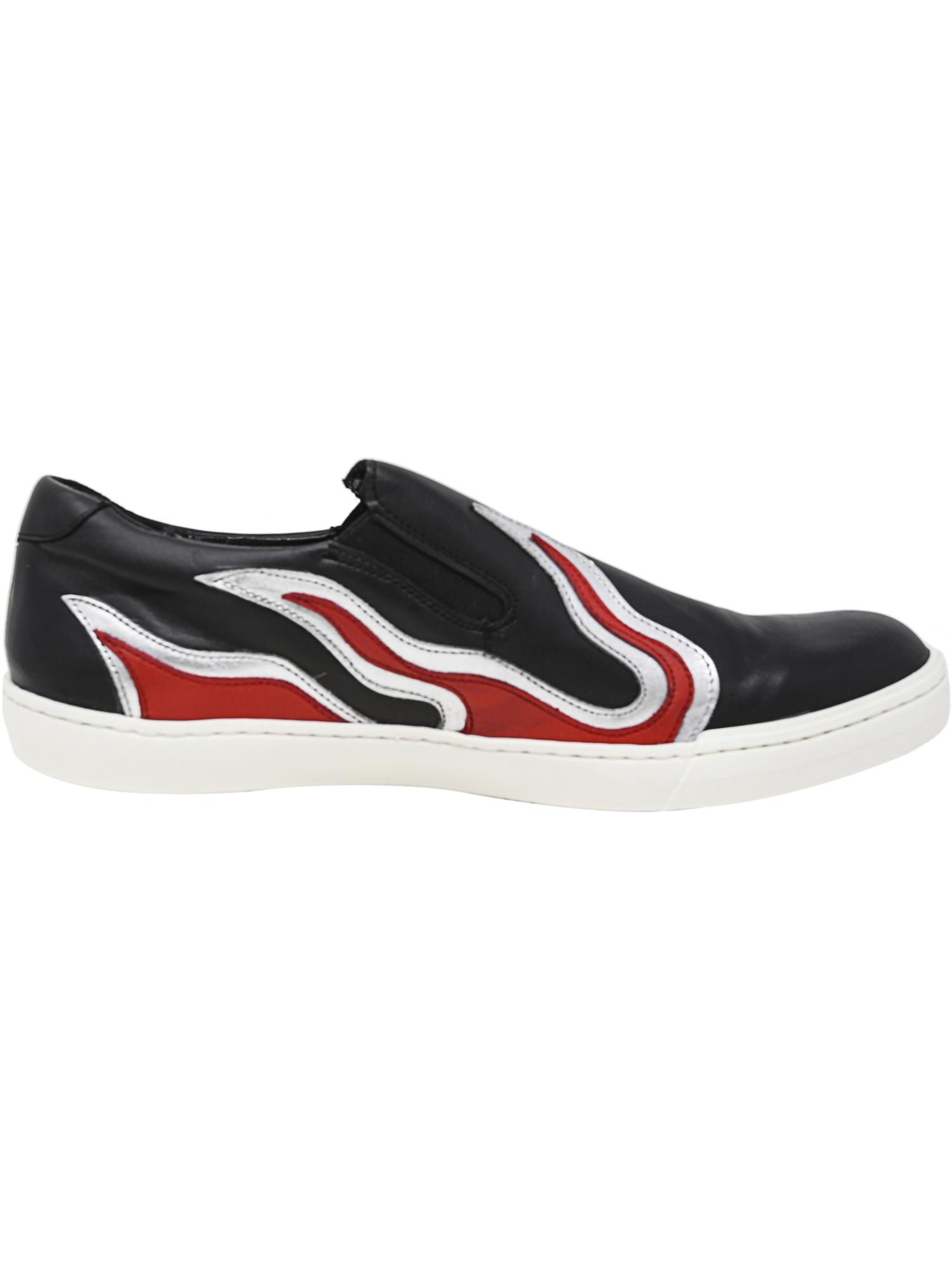 d4d9c33db6023 Steve Madden Men's Inferno Ankle-High Leather Slip-On Shoes | eBay