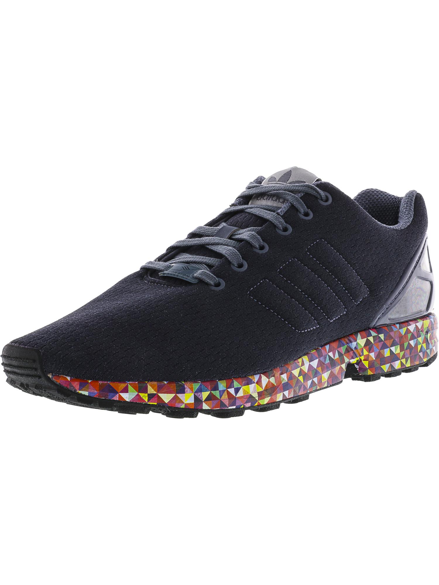 adidas uomini zx flusso caviglia alta scarpa da corsa su ebay