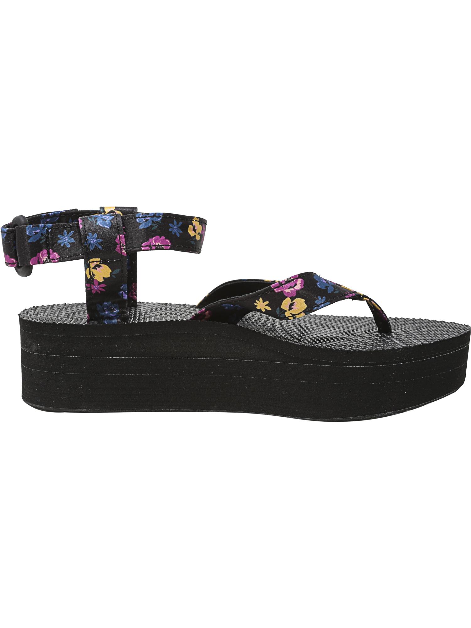 5a6bb21ddf2 Teva Women s Flatform Sandal Floral Ankle-High