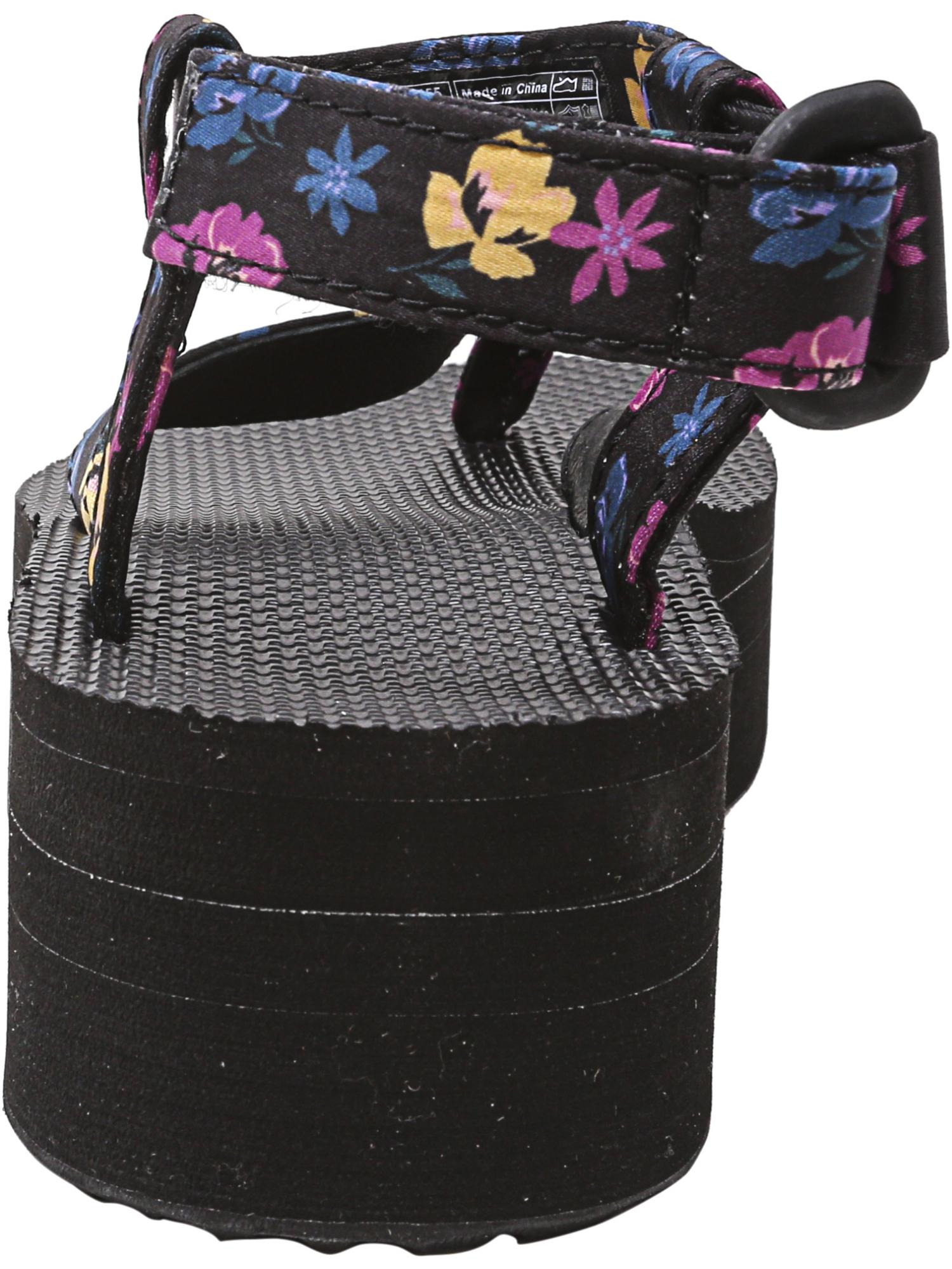 Teva-Women-039-s-Flatform-Sandal-Floral-Ankle-High thumbnail 7