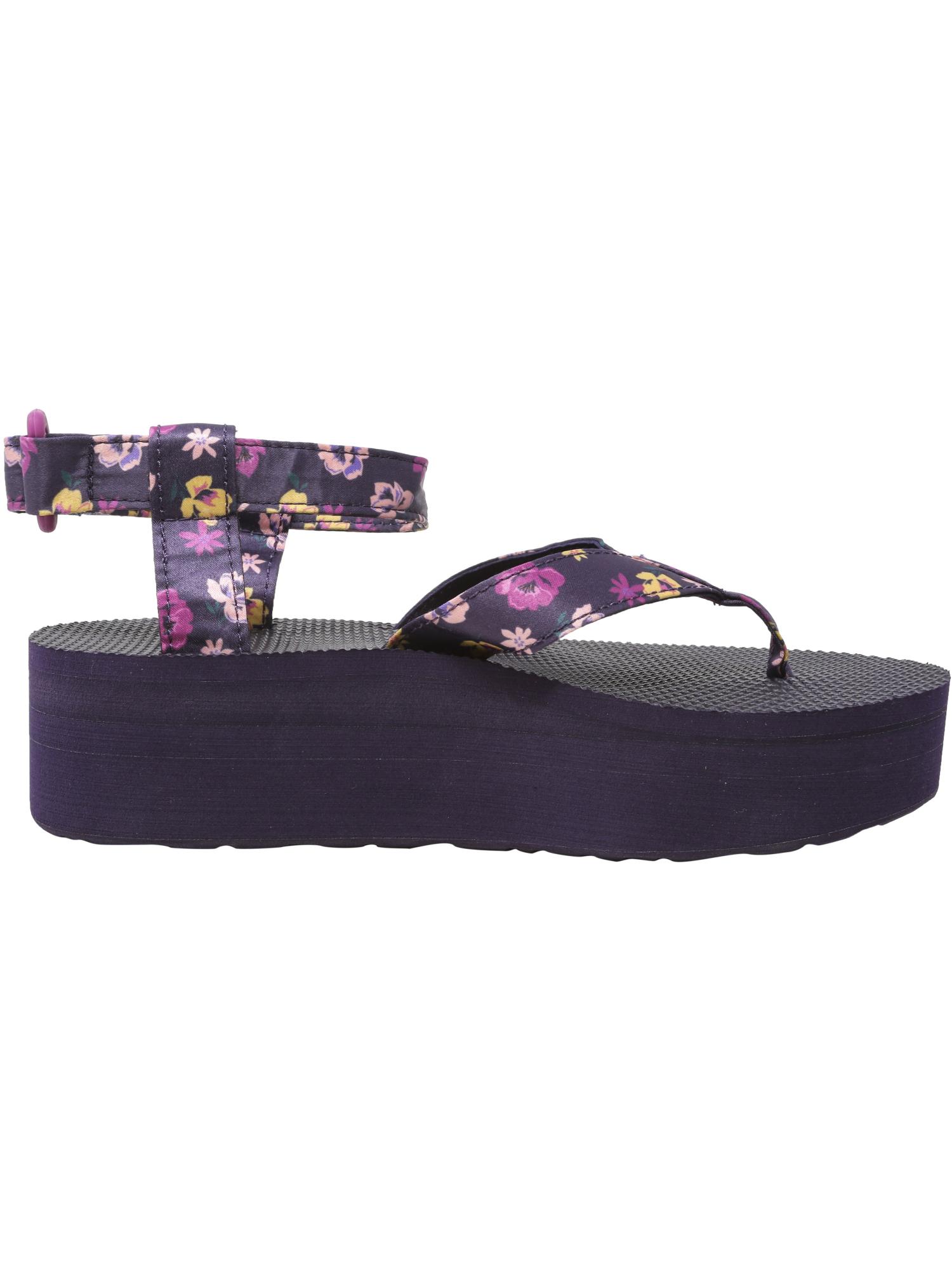 Teva-Women-039-s-Flatform-Sandal-Floral-Ankle-High thumbnail 14