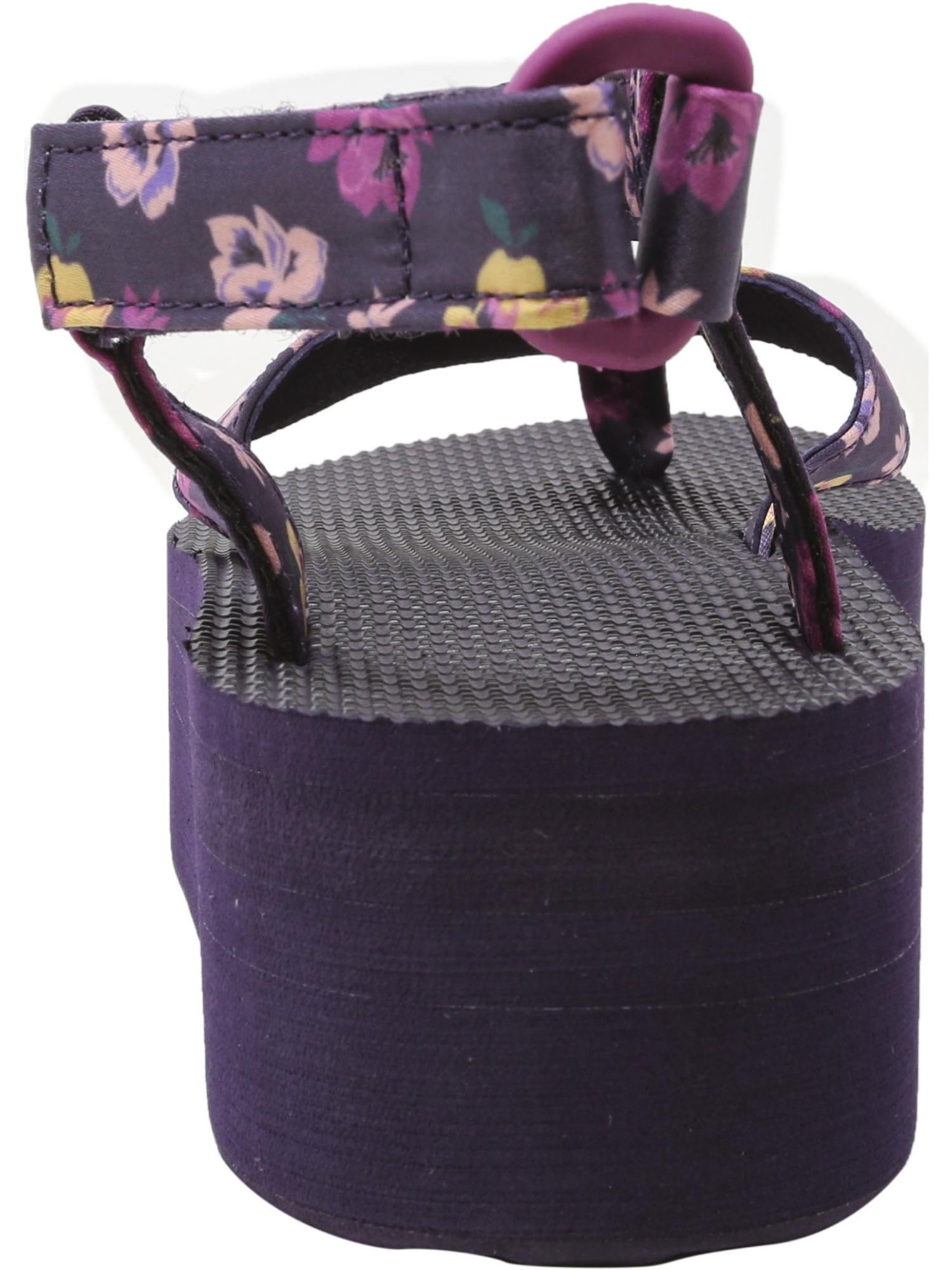 Teva-Women-039-s-Flatform-Sandal-Floral-Ankle-High thumbnail 15