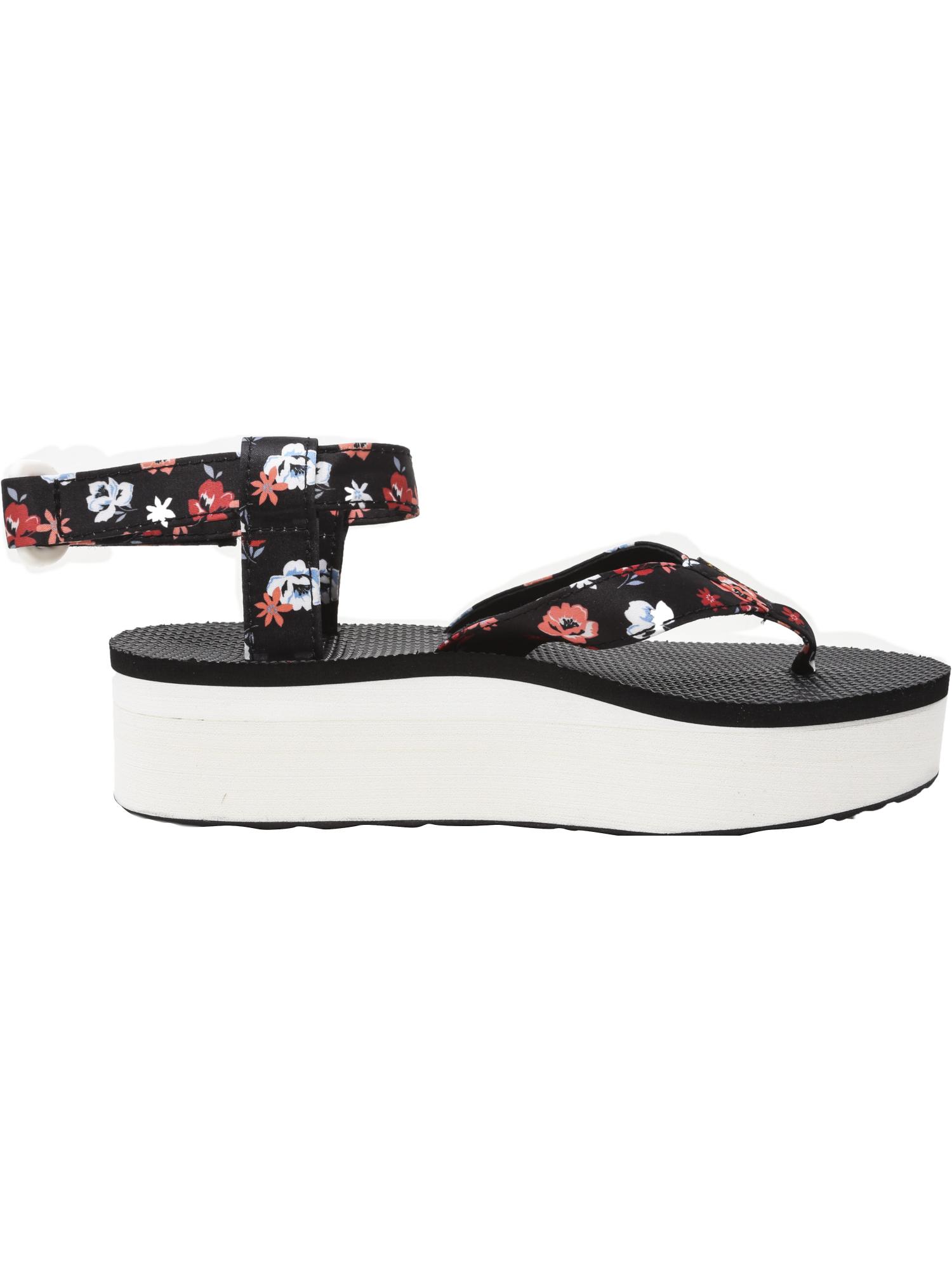Teva-Women-039-s-Flatform-Sandal-Floral-Ankle-High thumbnail 11