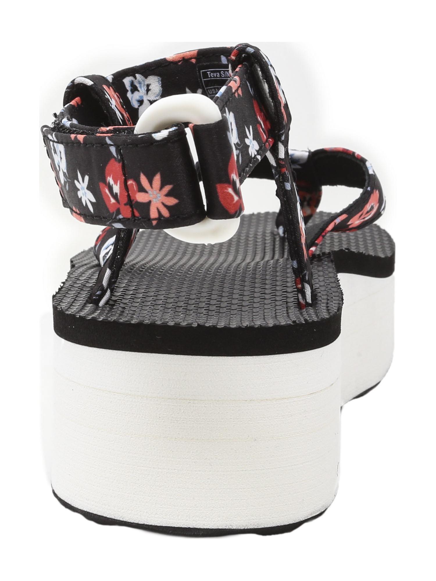 Teva-Women-039-s-Flatform-Sandal-Floral-Ankle-High thumbnail 12