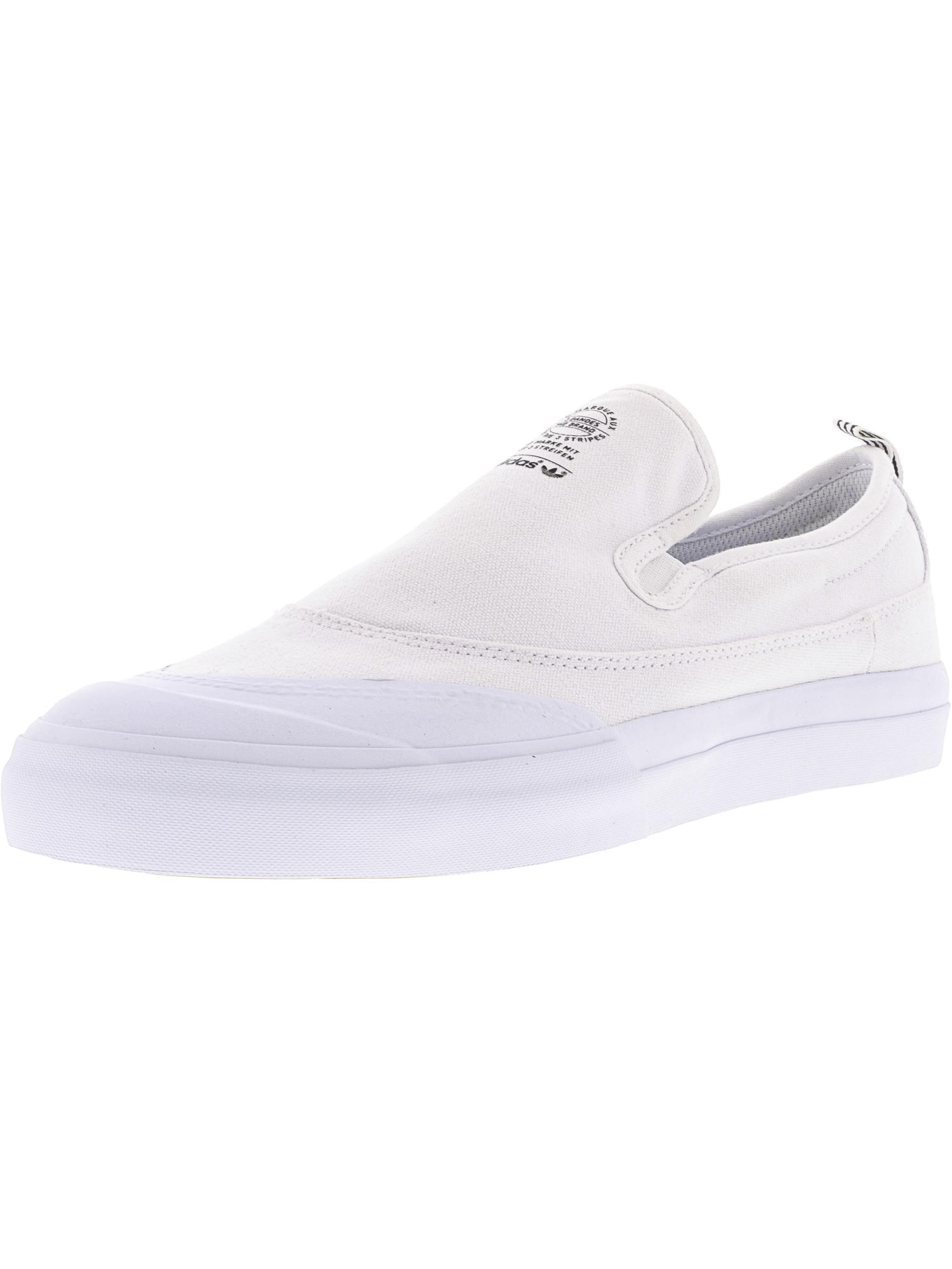 Adidas Men's Matchcourt Slip Ankle-High Canvas Skateboarding Shoe