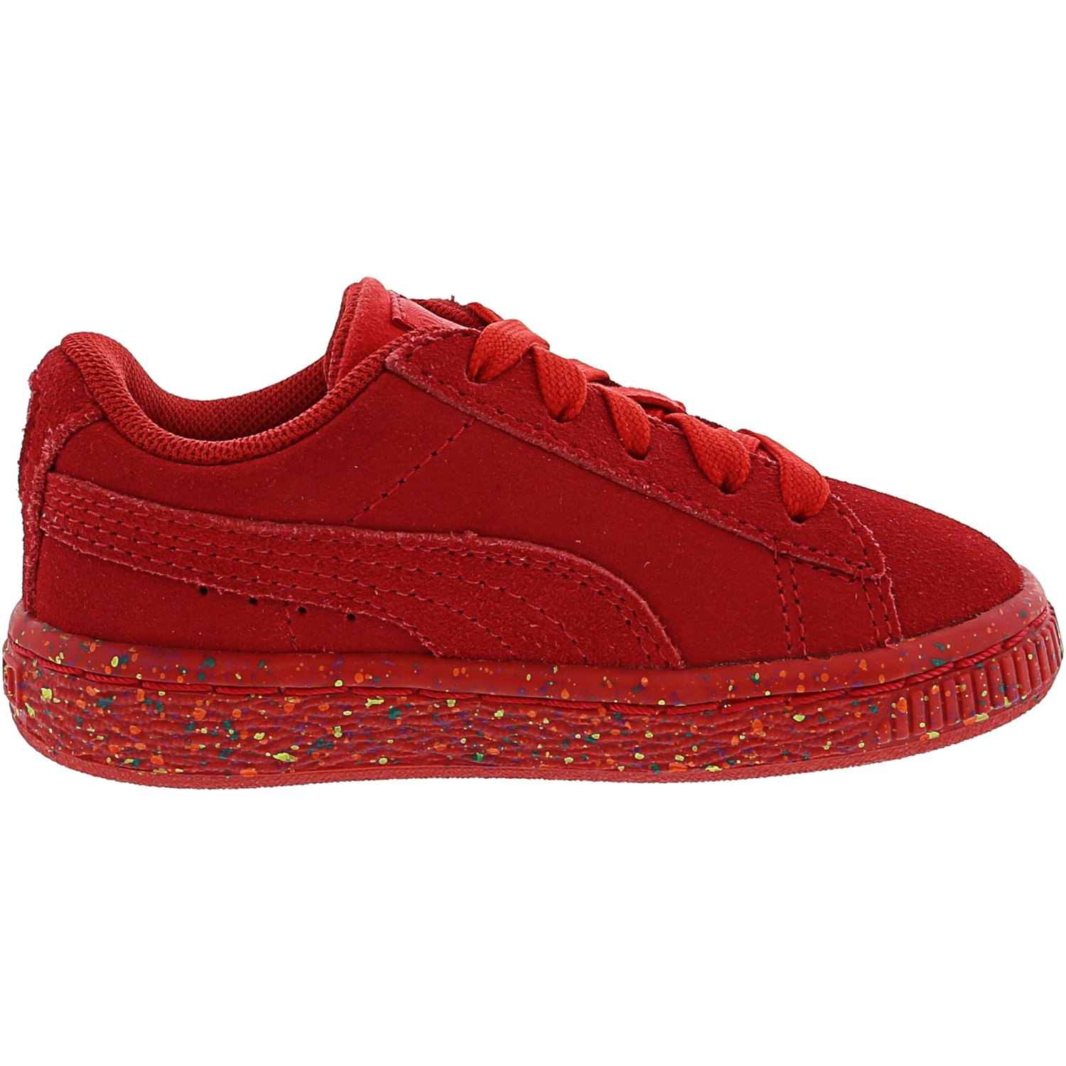Details about Puma Suede Classic Multi Splatter Ankle High Walking Shoe
